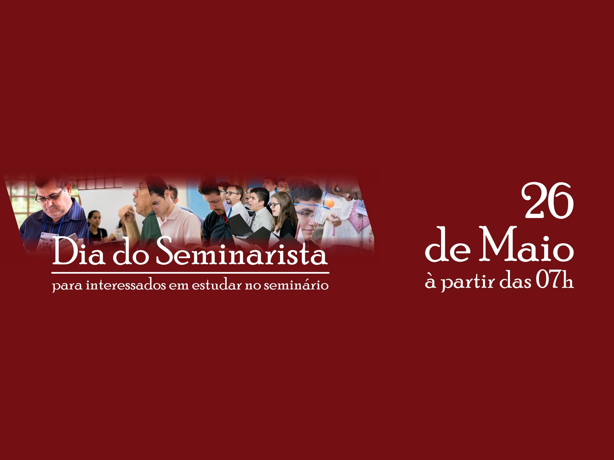 dia do seminarista para interessados em estudar no seminário